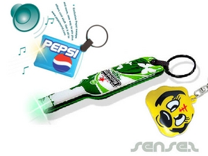 Flexible Sound Integrated Key Chains