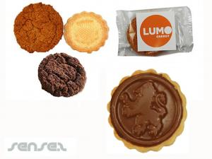 Logo-Schokoladen-Plätzchen