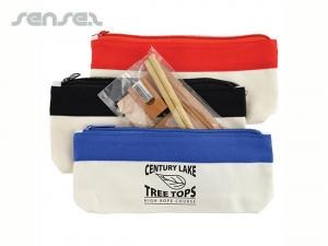 Eco Pencil Pouch with Stationery Sets