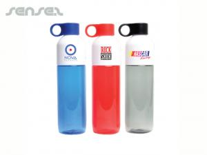 Colour Clear Water Bottles (770ml)