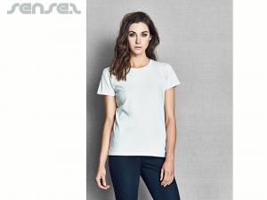 Damen-T-Shirts mit Rundhalsausschnitt