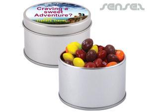 Large Skittle Tins