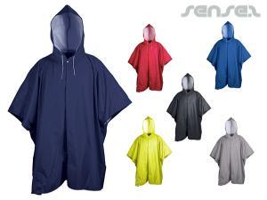 Durable Rain Ponchos