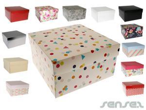 Riesige Pappe Geschenkboxen (22x22cm)