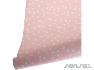 Pink Confetti gift Wrapping Paper 3m