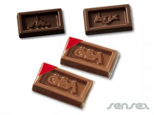 Mini Shaped Chocolate Bars (4.6g)
