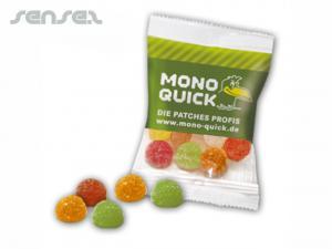 Kandierte Fruchtgummi-Drops (15 g)