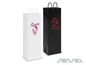 Laminierte Wine Carry Bags
