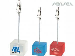 Cube Memo Holders