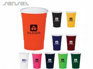 Plastic Party Cups (480ml)