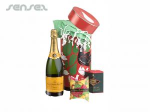 X-mas Champagne & Hammam Handtuch Geschenk-Sets