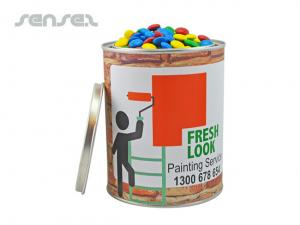 Chocolate Filled Paint Tin (900grms)