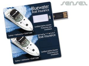 Credit Card USB Sticks (4GB)
