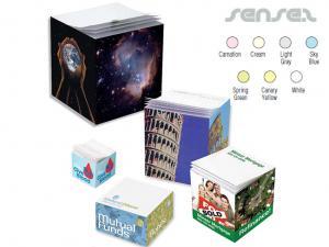 Sticky Note Cubes ( 70x70x70mm or 85x85x45mm or 100mm x 100mm x 25mm)