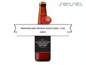 Custom Artisan Cider Bottles