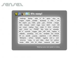 Magnetic Poetry Word Puzzles (150 x 210 mm)