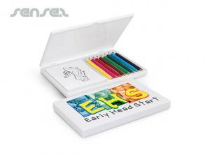 Sets Pad und Bleistifte
