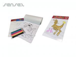 Colouring In Magnete und Bleistift-Sets