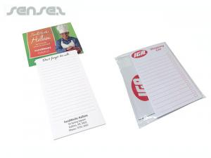 Magnetic Shopping Lists