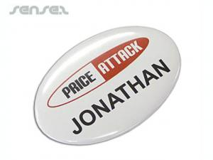 Full Colour Button badges (Medium Oval)