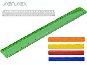 Plastic Flexible Rulers (30 cm/12 inches).