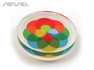 Acrylic Paperweights (10cm)