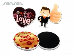 Custom Shaped Acrylic Magnets (8x8cm)