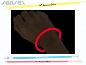 Glow in the dark Armbänder