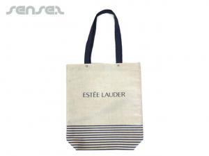 Custom Jute Linen Bags (Premium)