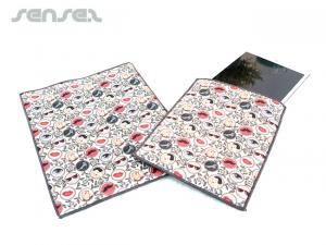 Full Colour printed Padded iPad Pouches