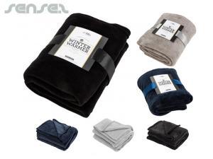 Winter Coral Fleece Blankets