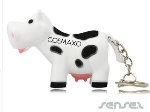 Moo-moo led keychain