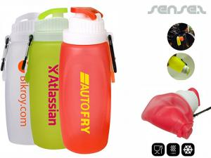 Silicone Foldable Sports Bottles (320ml)