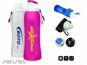 Silicone Foldable Sports Bottles (500ml)