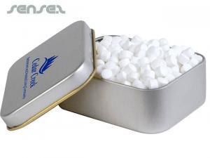 Grey Mint Tins