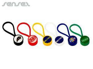 Colourful Mercus Keyring Plastic