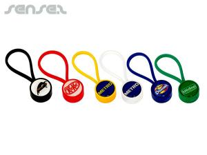 Colourful Mercus Plastic Keyrings