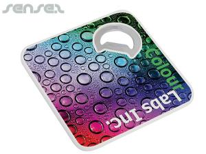 Full Colour Coasters and Bottle Openers