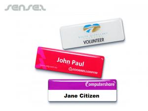 Epoxy Staff Name Badges