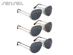 Stilvolle Pilotenbrille
