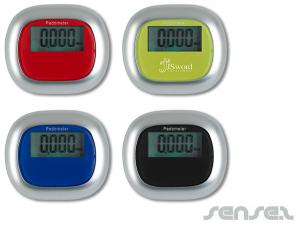 Colourful Pedometers