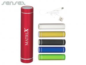 Colourful Cylinder Power Banks