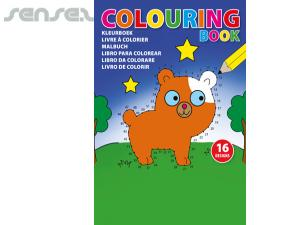 Kids Colouring Books (A5)