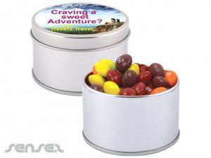 Skittles Round Tins