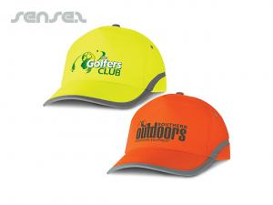 Senna Five Panel Hi-Vis Caps