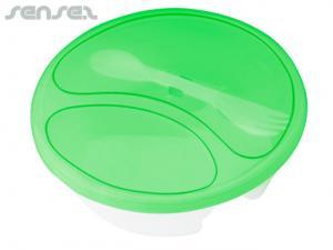 Veggie Plastic Round Salad Boxes