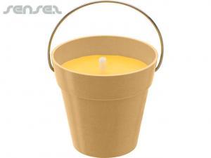Bambus Citronella-Kerzen