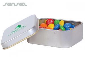 M & M Rechteckige Tins