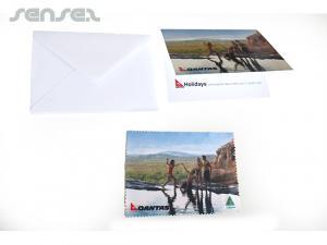 Gruß aus Mikrofaser Geschenkkarten