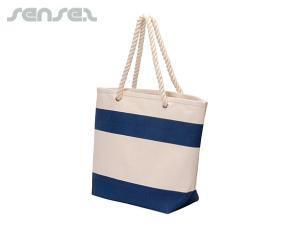 Palm Beach Cotton Canvas Totes